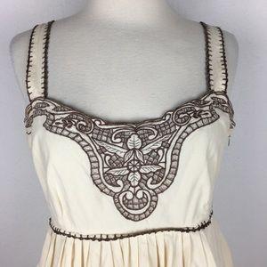 Anthropologie Dresses - Viola Lupita Embroidered Dress Size 6